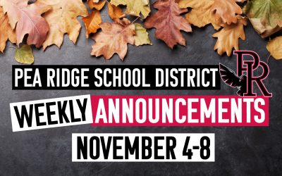 Weekly Announcements Nov. 4-8