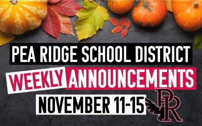 Weekly Announcements Nov. 11-15