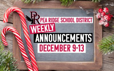 Weekly Announcements Dec. 9-13
