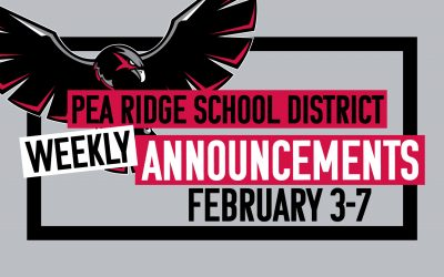 Weekly Announcements Feb. 3-7