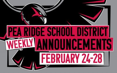 Weekly Announcements Feb. 24-28