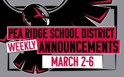 Weekly Announcements March 2-6