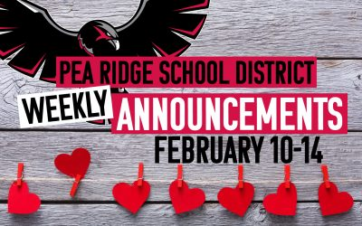 Weekly Announcements Feb. 10-14