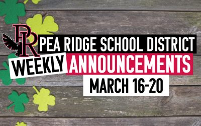 Weekly Announcements March 16-20