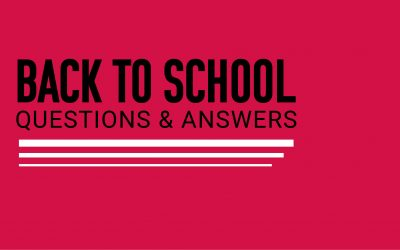 2021 Back to School Q&A